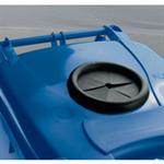 FSMISC 120L BLUE LOCK BOTTLE WHEELIE BINN