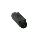 C2G Value Series S-Video Coupler wire connector MDIN-4F Black