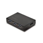 KENSINGTON KTG UH4000C USB 3.0 4 PORT HUB WITH CHAR