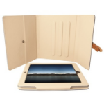 Urban Factory Executive Folio iPad Case with stand (rotates) for iPad 2, New iPad Grey