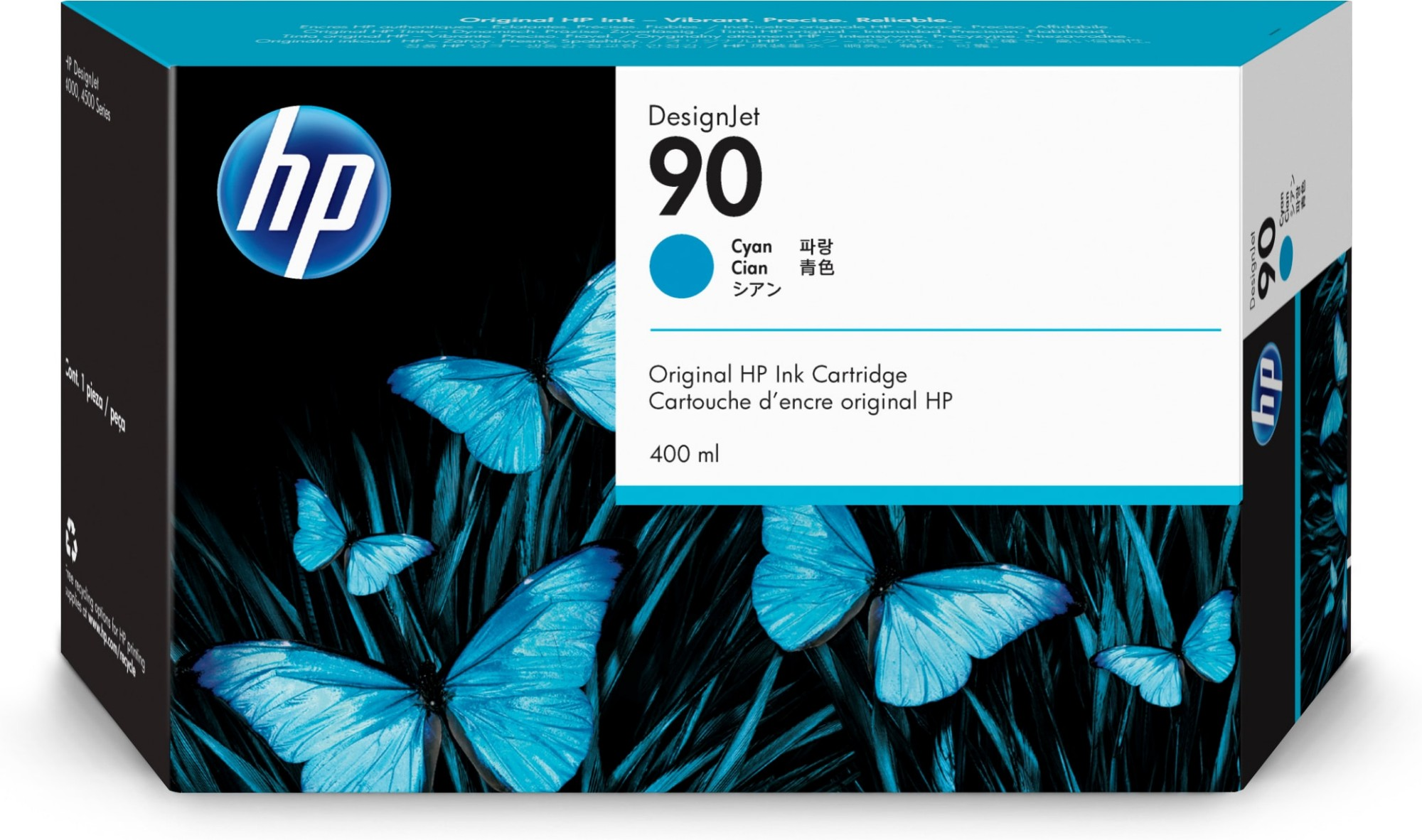 HP 90 Original Cian 1 pieza(s)