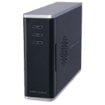 Arkara Gigalan Entry level SingleBay NAS enclosure; supports 1 x 3.5 HDD up to 2 TB; Print Server; CIFS/SMB