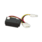 "Videk 3119P cable interface/gender adapter IDE Serial ATA, Power (5.25"") Black"
