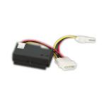 "Videk 3119P IDE Serial ATA, Power (5.25"") Black cable interface/gender adapter"