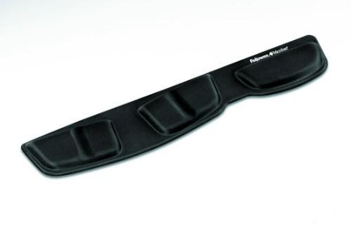 Fellowes Health-V Fabrik Keyboard Palm Support Black