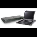 """iogear 6-Port PS/2 USB Combo KVM & 17"""" Rack Mount LCD Bundle"""