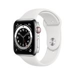 Apple Watch Series 6 OLED 44 mm Plata 4G GPS (satélite)