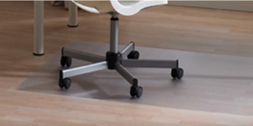Floortex 119932SV furniture floor protector mat Transparent PVC
