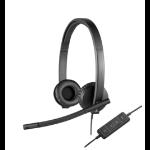 Logitech H570e Kopfhörer Kopfband Schwarz