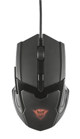 Trust GXT 101 USB 4800DPI Ambidextrous Black mice