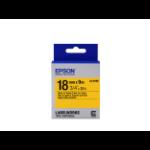Epson C53S655003 (LK-5YBP) DirectLabel-etikettes, 18mm x 9m