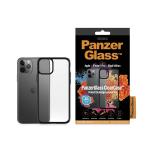 "PanzerGlass 0222 mobile phone case 14.7 cm (5.8"") Cover Black,Transparent"
