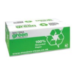MAXIMA GREEN 1PLY HAND TOWELS GRN PK1380