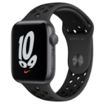 Apple Watch SE Nike 44 mm OLED Grey GPS (satellite)