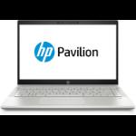 "HP Pavilion 14-ce1005na Silver Notebook 35.6 cm (14"") 1920 x 1080 pixels 8th gen Intel® Core™ i5 8 GB DDR4-SDRAM 256 GB SSD Windows 10 Home"