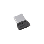 Jabra LINK 370 UC USB 30 m Zwart, Zilver