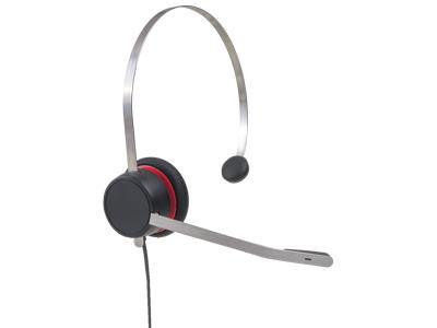 Avaya L139 headset Head-band Binaural Black,Red,Silver
