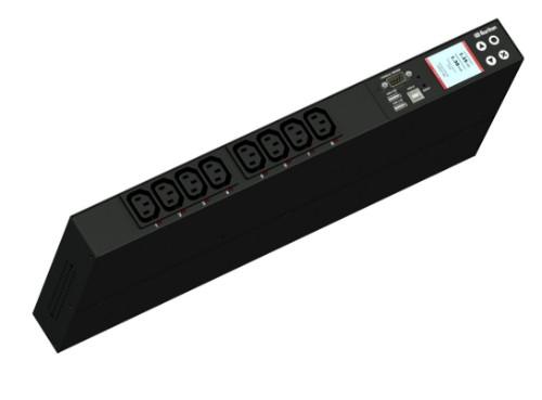 Raritan PX3-5190R power distribution unit (PDU) 8 AC outlet(s) 1U Black