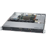Supermicro SuperServer 5019S-MT Intel C612 Socket H4 (LGA 1151) 1U Black