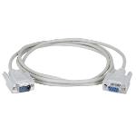 Black Box 7.6m DB9 7.6m DB9 DB9 White serial cable