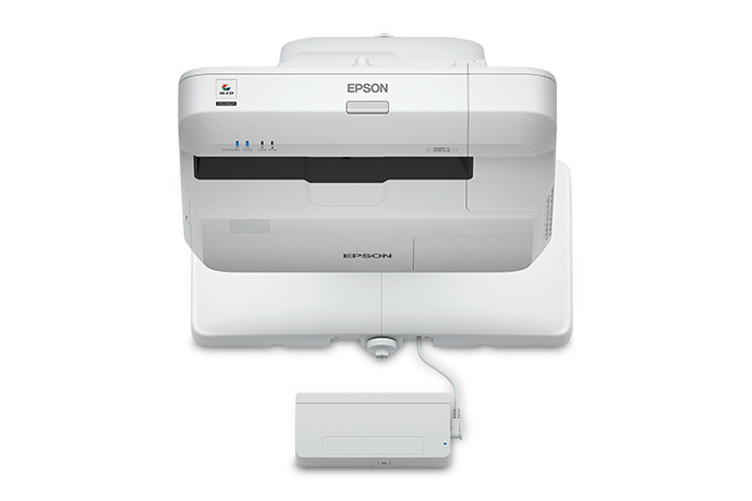 Epson BrightLink 697Ui Wall-mounted projector 4400ANSI lumens 3LCD WUXGA (1920x1200) Grey,White data projector