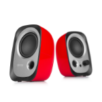 Edifier R12U loudspeaker 4 W Black,Silver,Red Wired