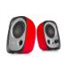 Edifier R12U loudspeaker 4 W Black,Silver,Red Wired