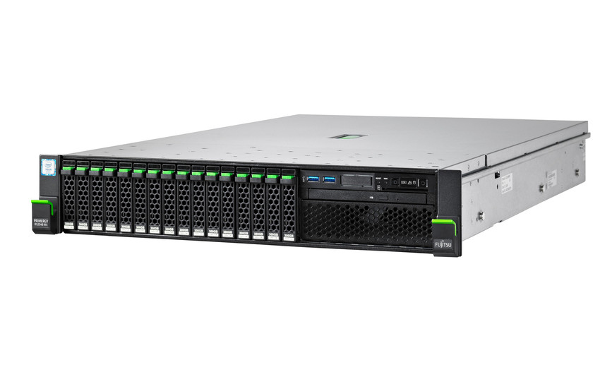 Fujitsu PRIMERGY RX2540 M4 2.1GHz 4110 800W Rack (2U) server