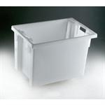 FSMISC STACK/NEST BOX 600X400X400MM WHITETE