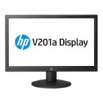 "HP V201a 19.45"" Matt Black computer monitor"