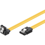 Microconnect SAT15001A1C6 0.1m Yellow SATA cable