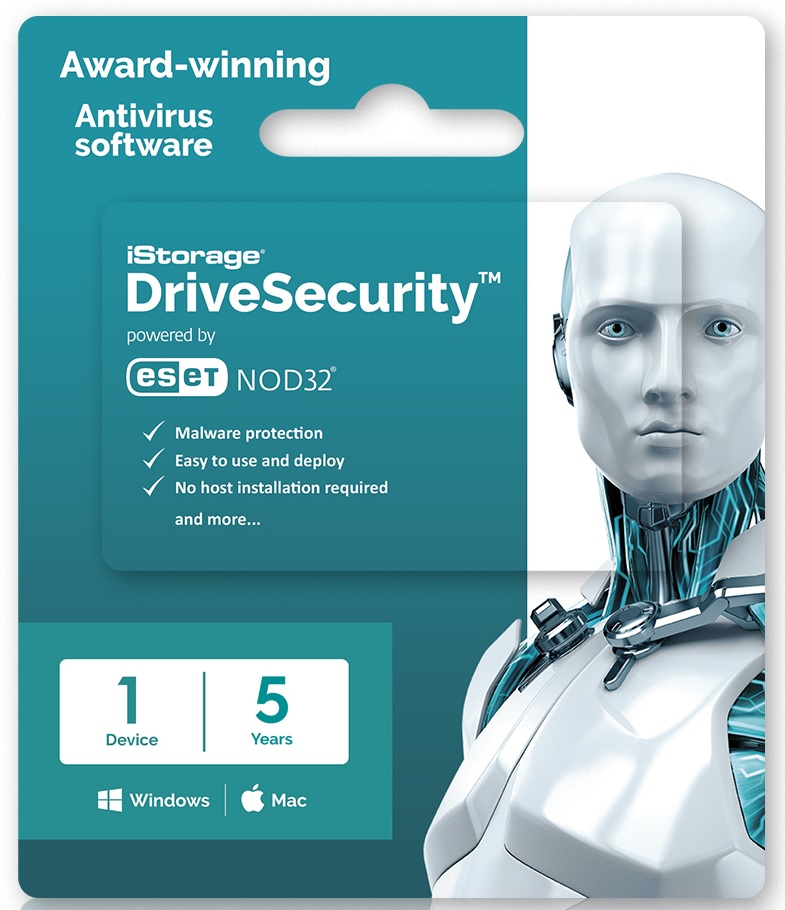 iStorage DriveSecurity 5yr Lic 1-99