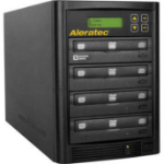 Aleratec 260180 media duplicator Optical disc duplicator 3 copies Black