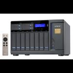 QNAP TVS-1282T-I5-16G NAS Tower Ethernet LAN Black