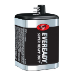Eveready 1209 Zinc-Carbon 6V non-rechargeable battery