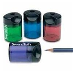 Swordfish Pencil Sharpener Canister Double Hole