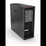 Lenovo ThinkStation P520 Intel® Xeon® W-2133 16 GB DDR4-SDRAM 512 GB SSD Tower Black Workstation Windows 10 Pro for Workstations