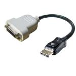 DELL DisplayPort DVI Adapter DisplayPort DVI Black cable interface/gender adapter