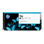 HP P2V82A (746) Ink cartridge bright black, 300ml