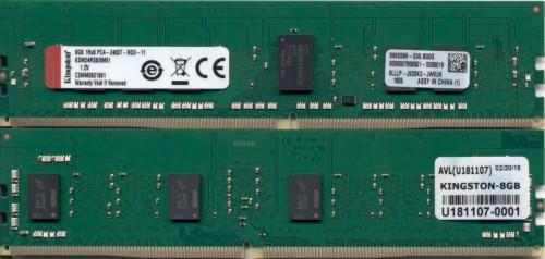 Kingston Technology KSM24RS8/8MEI memory module 8 GB DDR4 2400 MHz ECC