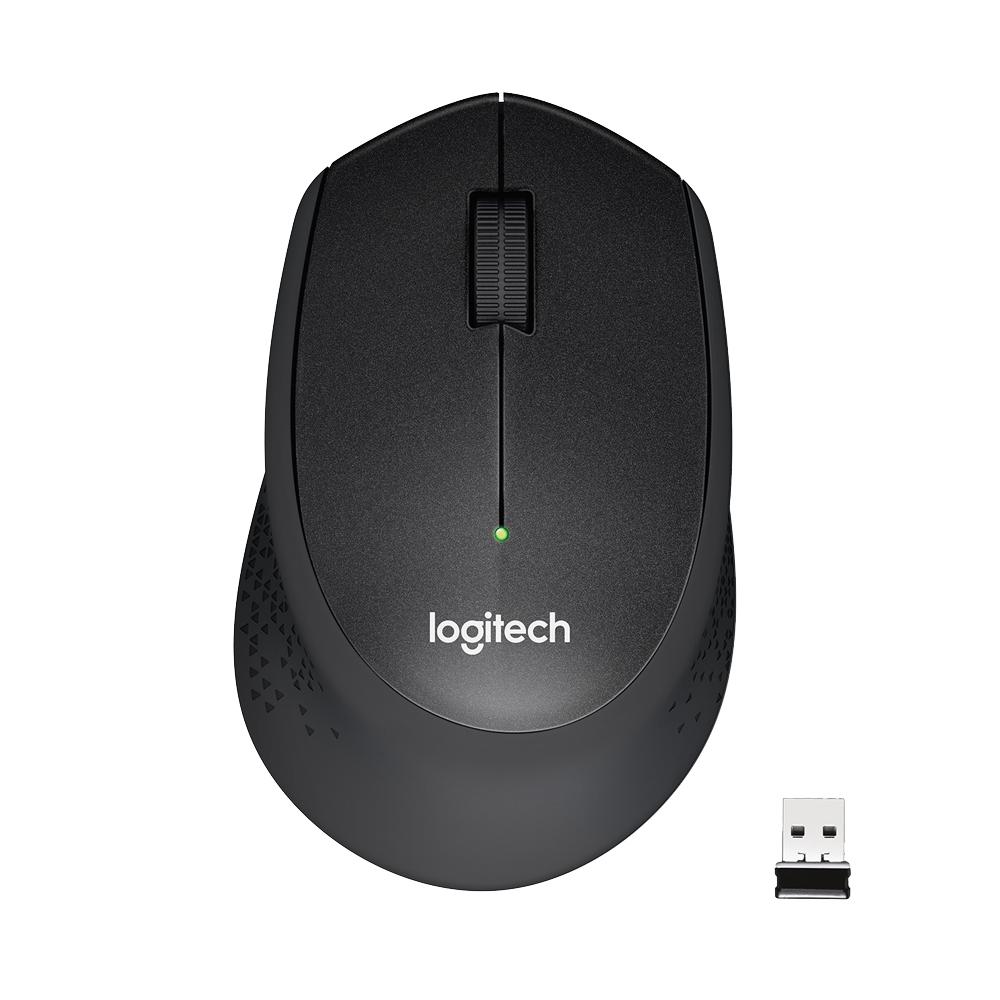 Logitech M330 ratón RF inalámbrico Mecánico 1000 DPI mano derecha