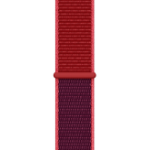 Apple 3G369ZM/A smartwatch accessory Band Red