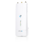Ubiquiti Networks AirFiber AF-5XHD WLAN access point 1000 Mbit/s Power over Ethernet (PoE) White