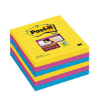 Post-It SS NOTES RIO LINED 101X101 P6