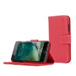 """TheSnugg B01I3BY9B8 5.5"""" Wallet case Red mobile phone case"""