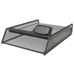Allsop 30644 Black desk tray