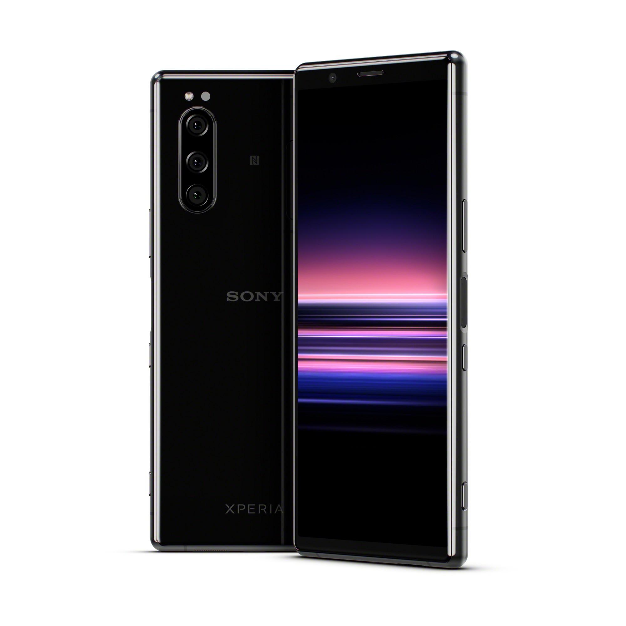 "Sony Xperia 5 15,5 cm (6.1"") 6 GB 128 GB 4G USB Tipo C Negro Android 9.0 3140 mAh"