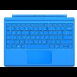 Microsoft Surface Pro 4 Type Cover - Keyboard - Dutch/English - Light Blue