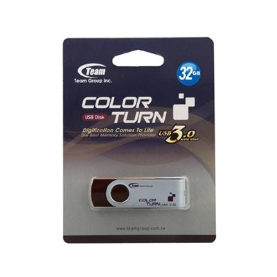 Team Group Turn 32GB USB 3.0 Brown USB Flash Drive