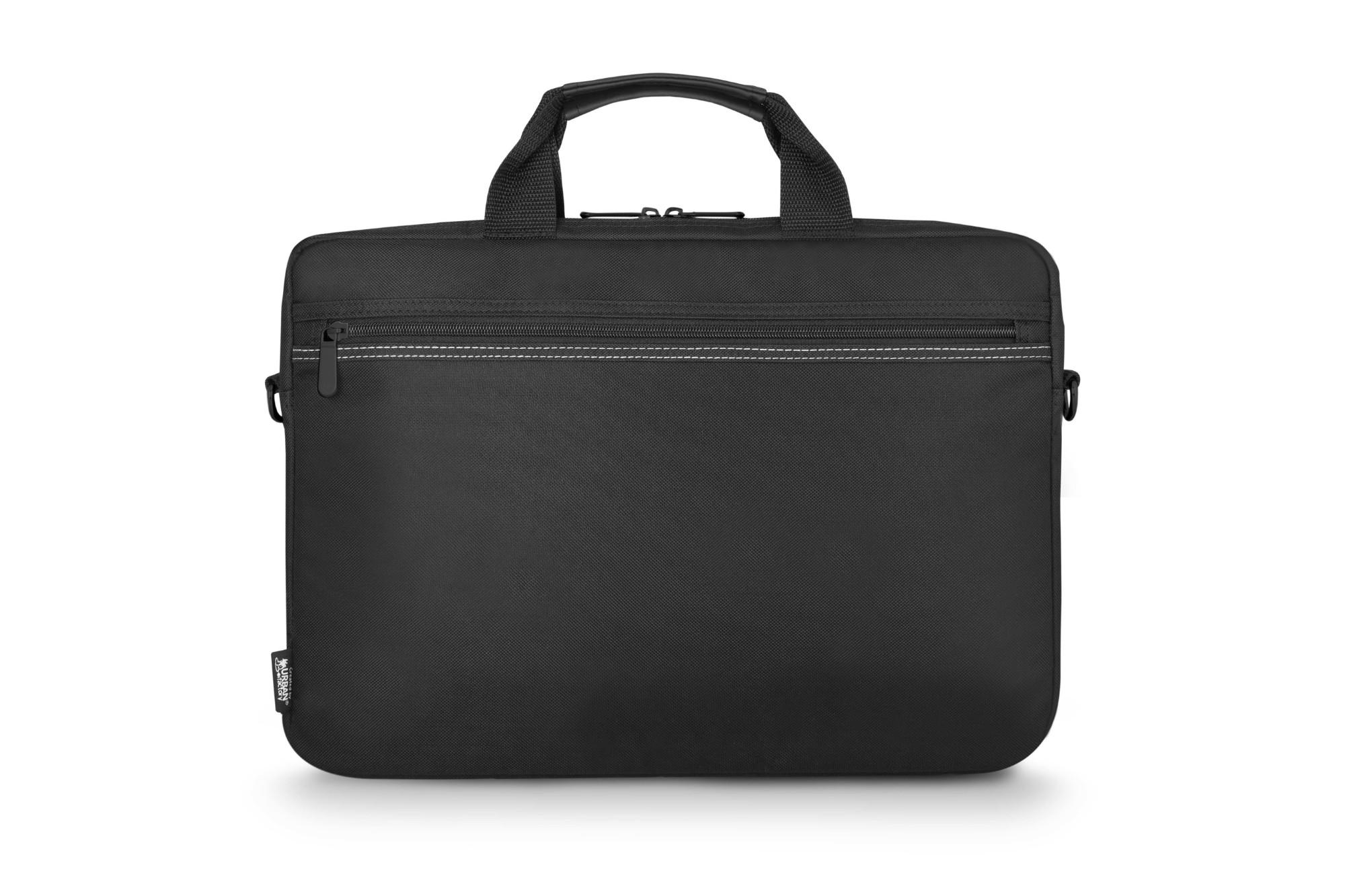 "Urban Factory Toplight maletines para portátil 39,6 cm (15.6"") Maletín Negro"